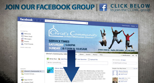 CCUMC Facebook Group